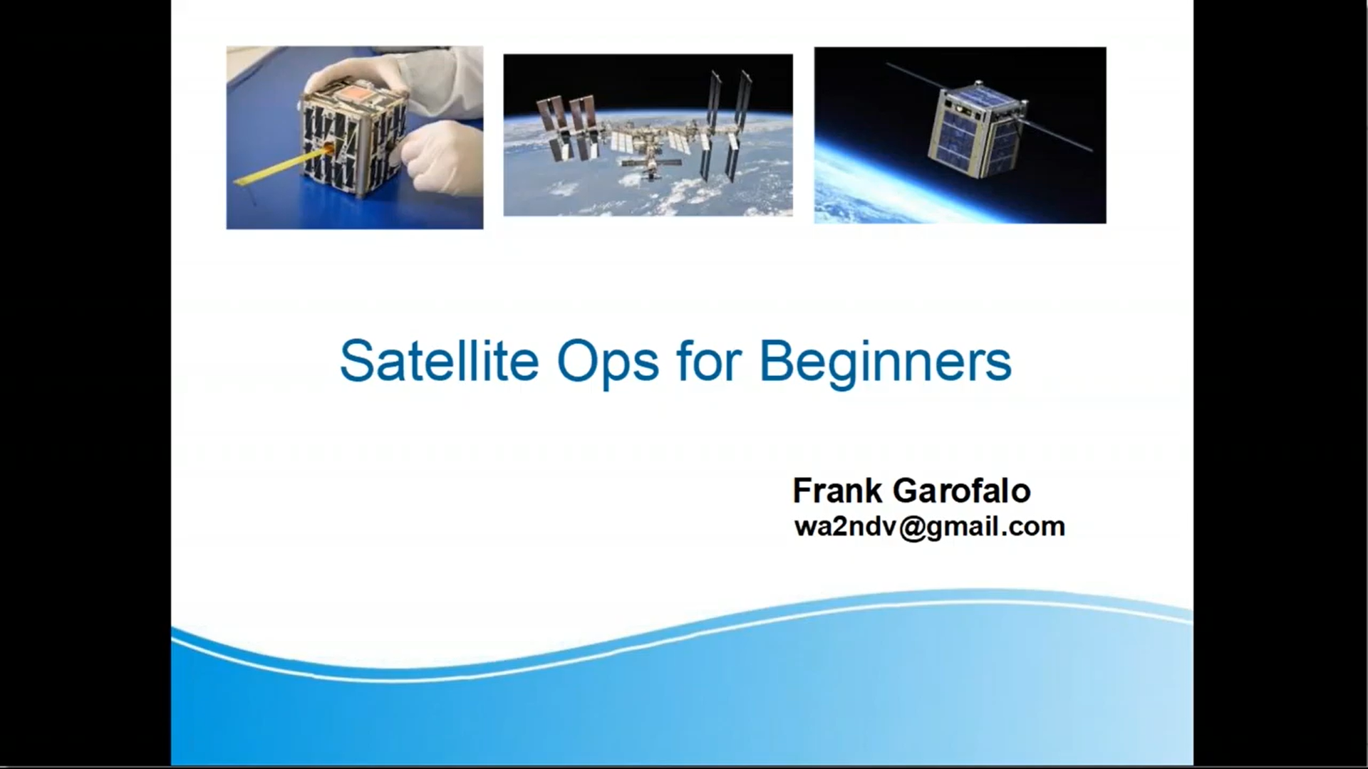 Satellite Operations for Beginners