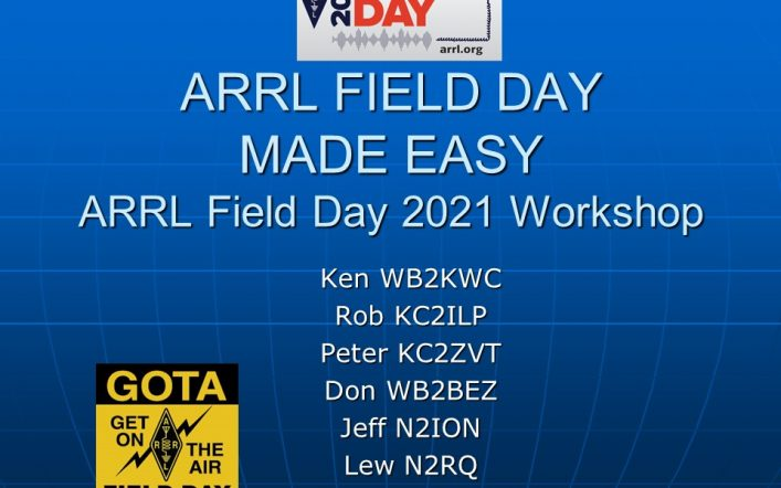 Field Day Made Easy Presentation
